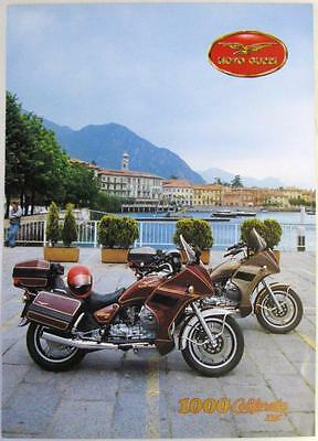 MOTO GUZZI 1000 CALIFORNIA III Motorcycle Sales Brochure Jul 1988