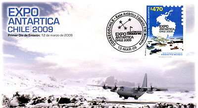 Chile 2009 FDC Antarctic Expo