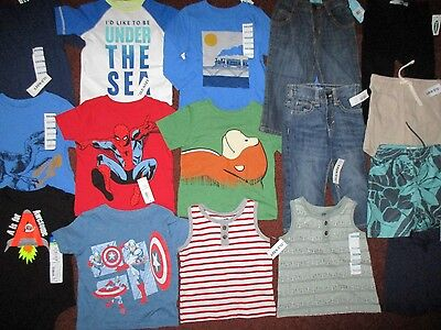 NWT'S 16 Pc. Boys Size 12-18 Months Lot of  CLOTHES & OUTFITS Old Navy