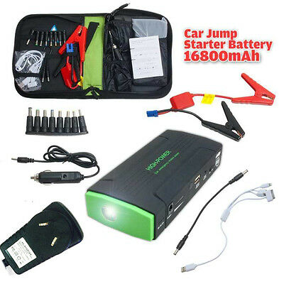 16800mah Portable Car Auto Jump Starter Battery Charger Power Bank Booster AU