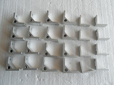 Lot Of 24 Aluminum Angle Corner Bracket Extrusion 3D Printer Frame German Made