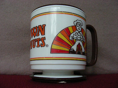""""""" L@@K!! """" Vintage """" DAWN DONUTS """" Travel Mug by Whirley Ind.:  """" SHIPS FREE """"!!"""