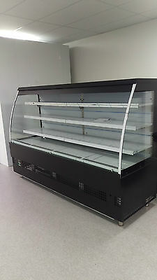 Commercial Display cabinet, Display fridge, Refrigerator, open front display