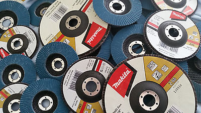 Makita Flap Disc 100Mm 115Mm 125Mm 180Mm Zirconia 80 Grit Excellent Quality