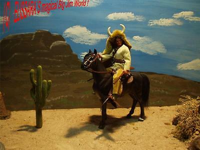 Big Jim - Karl May - BLOODY FOX / BISONTE NERO  - Western - Mattel