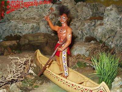 Big Jim - Custom - IROKESE INDIANER / IROQUOIS INDIAN - LIMITED EDITION - Mattel