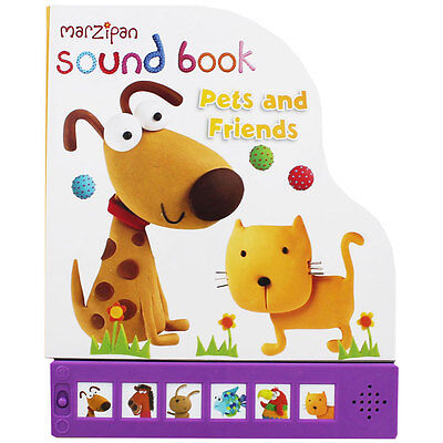 Marzipan Pets and Friends Sound Book (Board Book), Children's Books, Brand New