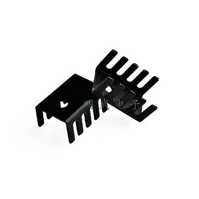10pcs 718 heat sink TO220 15*10*20MM transistor and other special heat sink alu