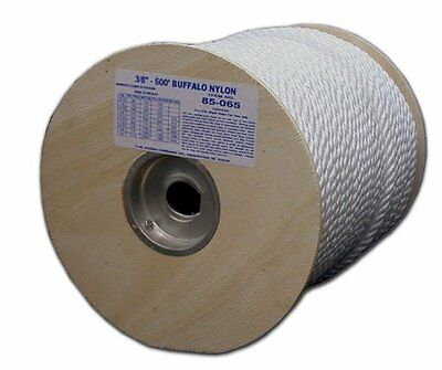 T.W . Evans Cordage 85-063 3/8-Inch by 300-Feet Twisted Nylon Rope