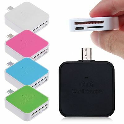 Micro USB 2.0 OTG Adapter Micro SD TF Memory Card Reader for Mobile Phone