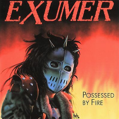 "EXUMER - Possessed by Fire  LP + 7""  ULTRA CLEAR"