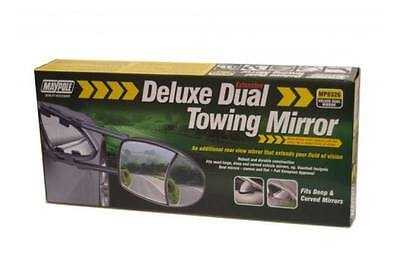 Maypole Universal Deluxe Dual Wing Convex and Flat Glass Mirror- MP8326.