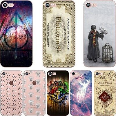 Coque Harry Potter Magician Soft Case Apple Iphone  5 5s 6 6s 7 +