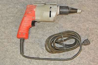 MILWAUKEE Heavy-Duty SCREW GUN Corded Electric 6758-1 Drywall Gun *WORKS GREAT*