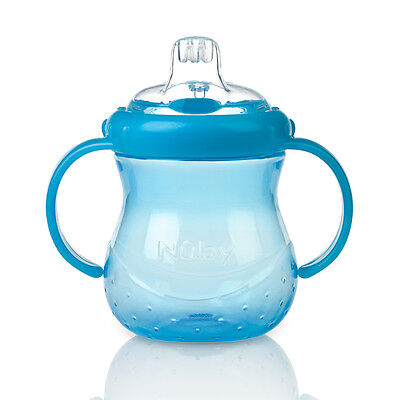 Nuby Art. 9644 Grip n Sip Cup 6m+ 295ml/10oz - Blue