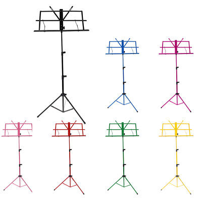 Music Sheet Stand Adjustable Tripod Holder Foldable for Practitioners