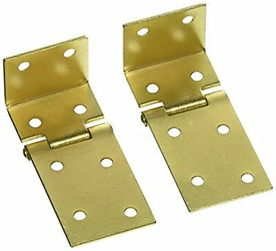 "National Hardware V550 1-1/2"" X 3/4"" Chest Hinges in Brass"