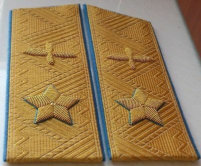 USSR, Marshals of AVIATION, Army Ranks, Shoulder boards Epaulettes, Russia Repro
