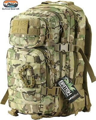 Kombat BTP Small Assault back pack / daysack 28 Litre compliments MTP / Multicam
