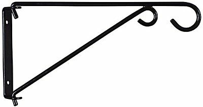National Hardware V2650 9-Inch Swivel Bracket, Black