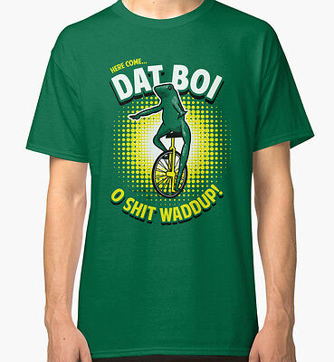 Here Come Dat Boi Men's Tees Tshirt Clothing S - 3XL