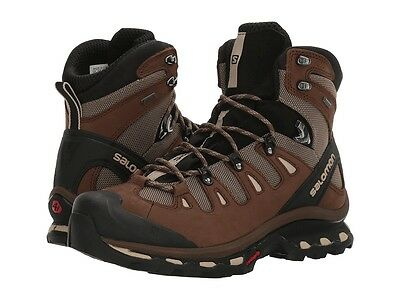 Men's Salomon Quest 4D 2 GTX Waterproof Hiking Trail Backpacking Boots -- NEW --