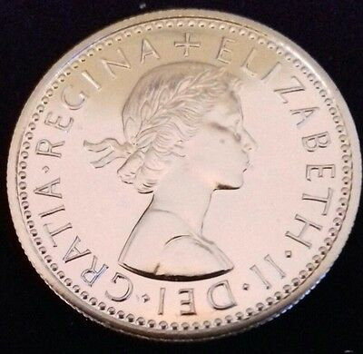1970 Proof Sixpence. Proof Issue Only. Elizabeth 11 British Coins.