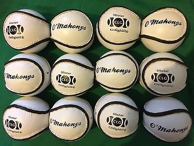 Club special 12 x size 5 offical match gaa sliotar for hurling camoige hurley