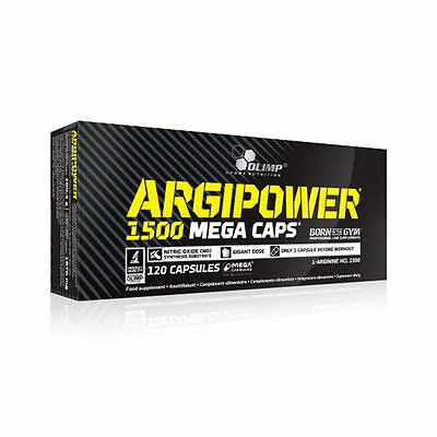 Olimp - Argi Power 1500 Mega Caps, L-Arginin, Booster, Power Amino, BLISTER