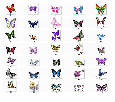 30 Personalized Return Address Labels Butterflies Buy 3 get 1 free