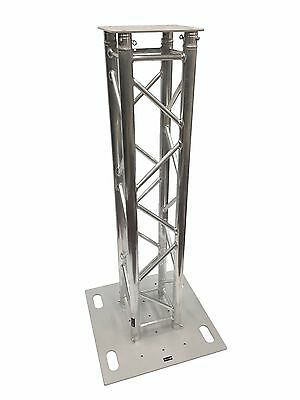 1.5 Meter 4.9 Ft Truss Aluminum DJ Lighting Tower Square Trussing Totem With Top