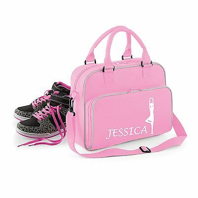 Personalised Ballerina Theme Shoulder Bag Ballet Tutu Dance P.e Shoes - Ff145