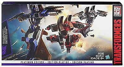 Transformers Platinum Edition G1 Conehead Seeker Ramjet Thrust Dirge Ages 8+ Toy