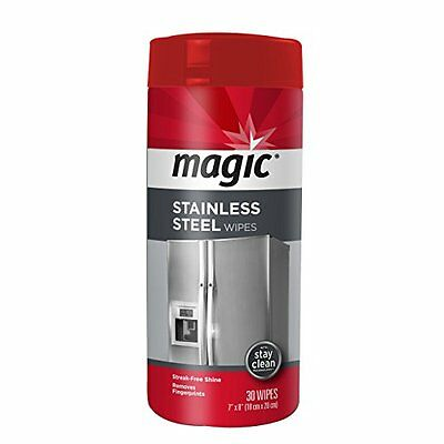 Magic Stainless Steel Cleaner, 30 Count