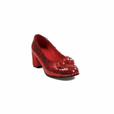 Red Sequin Adult Shoes