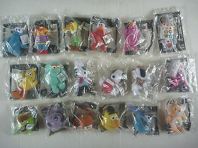 McDonalds SESAME STREET,SNOOPY,BARBIE,CARE BEARS Happy Meal toy SEALED LOT 2001
