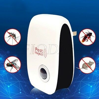 Ultrasonic Electronic Anti Mosquito Pest Insect Repellent Rat Repeller Reject
