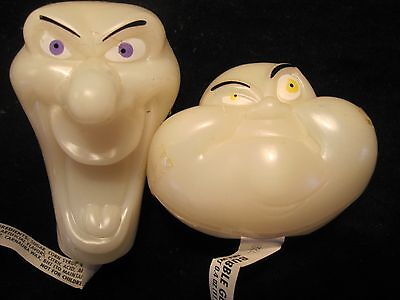1995 Topps Casper and Ghostly Plastic Bubble Gum Figures Unopened!