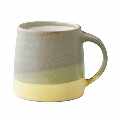 KINTO Mug Cup SCS-S03 320ml Moss Green Yellow Porcelain 20755 MADE IN JAPAN