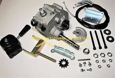 "Universal Go Kart Forward Reverse Gear Box Fit  3/4"" TAV2 30 40 41 12T 10T #35"