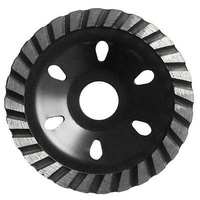 Grinding Wheel Concrete Cup Disc Concrete Masonry Tool Wood Marble 100mm Blk