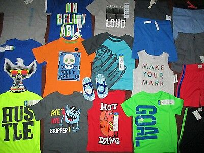 NWT'S Boys Summer Size 3T Lot CLOTHES & OUTFITS  TCP Okie Dokie Old Navy Gap