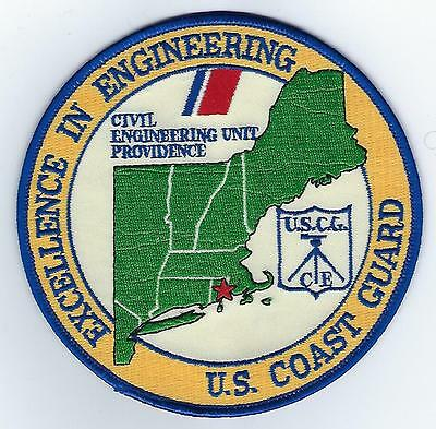 USCG Civil Engineering Unit Providence  (US Coast Guard Station Patch), 1992