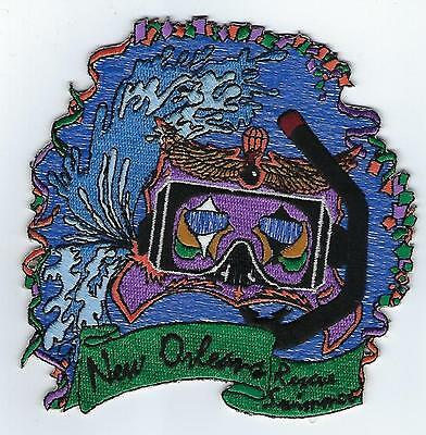 USCG  Rescue Swimmer, New Orleans  (US Coast Guard Station Patch), 1992