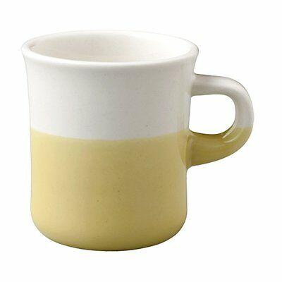 KINTO Mug Cup SCS 250ml Yellow 27663 Two Tone Color Porcelain MADE IN JAPAN