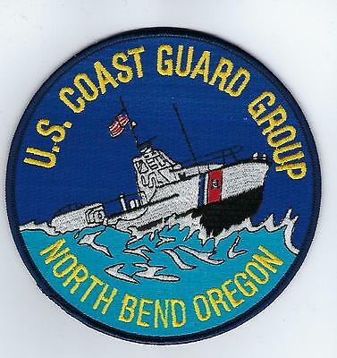 USCG Group North Bend Oregon  (US Coast Guard Station Patch) 1992