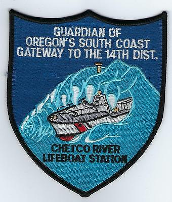 USCG Chetco River Lifeboat Station  (US Coast Guard Station Patch) 1992