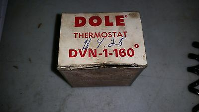 Dole Thermostat DVN-1-160 Degree  New Old Stock