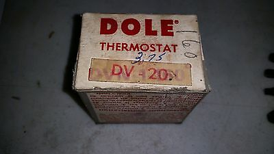 Dole Thermostat DV-20  New Old Stock