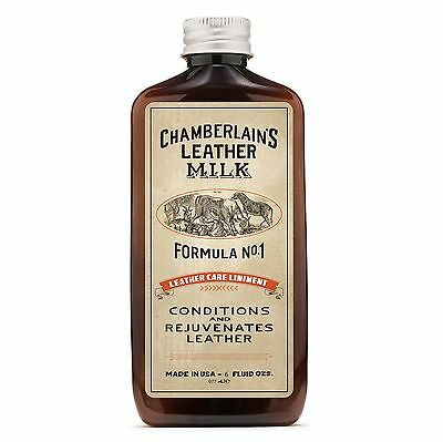 Leather Milk Leather Conditioner and Cleaner - Leather Care Liniment No. 1. A...